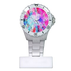 Background Art Abstract Watercolor Plastic Nurses Watch by Sapixe