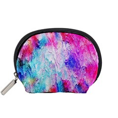 Background Art Abstract Watercolor Accessory Pouch (small)