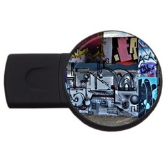 Lost Places Abandoned Train Station Usb Flash Drive Round (2 Gb)