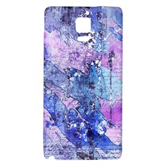 Background Art Abstract Watercolor Samsung Note 4 Hardshell Back Case by Sapixe