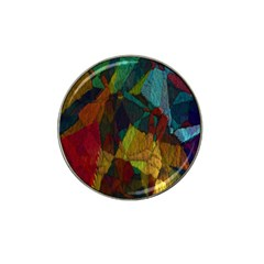 Background Color Template Abstract Hat Clip Ball Marker