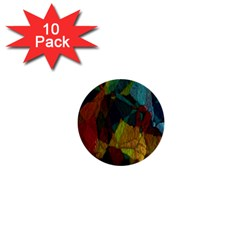 Background Color Template Abstract 1  Mini Buttons (10 Pack)