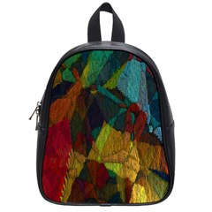 Background Color Template Abstract School Bag (small) by Sapixe
