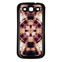 Abstract Art Wallpaper Background Samsung Galaxy S3 Back Case (black)