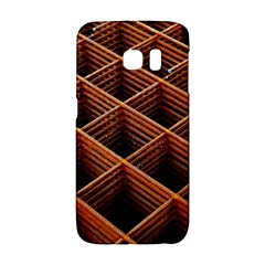 Metal Grid Framework Creates An Abstract Samsung Galaxy S6 Edge Hardshell Case by Jojostore