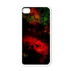 Background Art Abstract Watercolor Apple Iphone 4 Case (white)