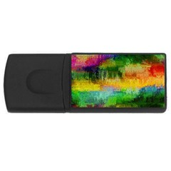 Pattern Texture Background Color Rectangular Usb Flash Drive