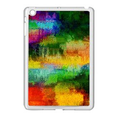 Pattern Texture Background Color Apple Ipad Mini Case (white)