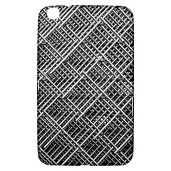 Grid Wire Mesh Stainless Rods Rods Raster Samsung Galaxy Tab 3 (8 ) T3100 Hardshell Case