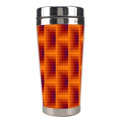 Fractal Multicolored Background Stainless Steel Travel Tumblers by Jojostore