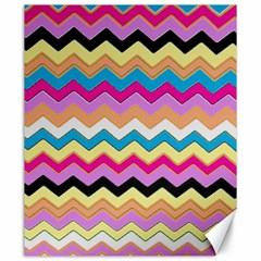Chevrons Pattern Art Background Canvas 20  X 24