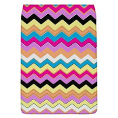Chevrons Pattern Art Background Removable Flap Cover (l)