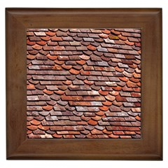 Roof Tiles On A Country House Framed Tiles