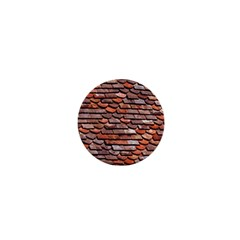 Roof Tiles On A Country House 1  Mini Buttons by Jojostore