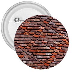 Roof Tiles On A Country House 3  Buttons by Jojostore