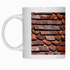 Roof Tiles On A Country House White Mugs by Jojostore