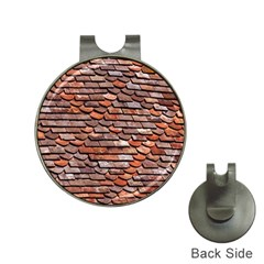 Roof Tiles On A Country House Hat Clips With Golf Markers by Jojostore