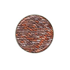 Roof Tiles On A Country House Hat Clip Ball Marker by Jojostore