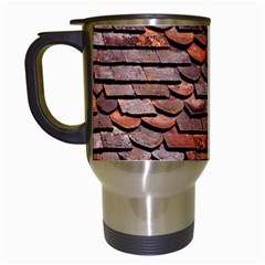 Roof Tiles On A Country House Travel Mugs (white) by Jojostore