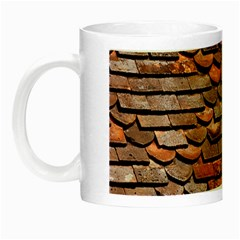 Roof Tiles On A Country House Night Luminous Mugs by Jojostore