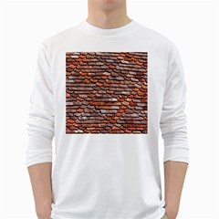 Roof Tiles On A Country House Long Sleeve T Shirt by Jojostore