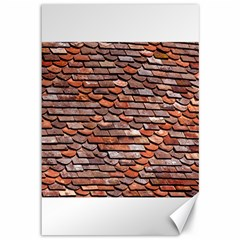 Roof Tiles On A Country House Canvas 12  X 18  by Jojostore