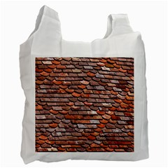 Roof Tiles On A Country House Recycle Bag (two Side) by Jojostore