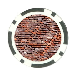 Roof Tiles On A Country House Poker Chip Card Guard (10 Pack) by Jojostore
