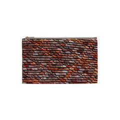 Roof Tiles On A Country House Cosmetic Bag (small) by Jojostore