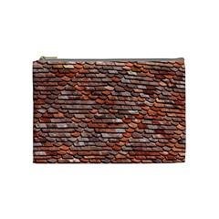 Roof Tiles On A Country House Cosmetic Bag (medium) by Jojostore