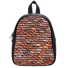 Roof Tiles On A Country House School Bag (small) by Jojostore