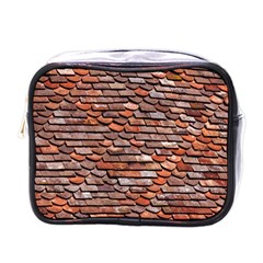 Roof Tiles On A Country House Mini Toiletries Bag (one Side) by Jojostore