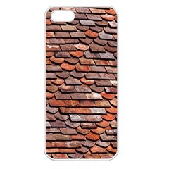 Roof Tiles On A Country House Apple Iphone 5 Seamless Case (white) by Jojostore