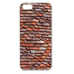 Roof Tiles On A Country House Apple Seamless Iphone 5 Case (clear) by Jojostore