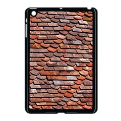 Roof Tiles On A Country House Apple Ipad Mini Case (black) by Jojostore