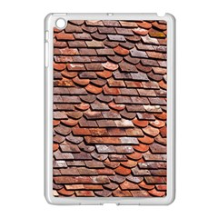 Roof Tiles On A Country House Apple Ipad Mini Case (white) by Jojostore