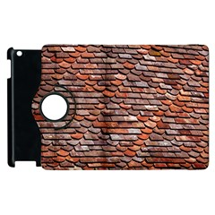 Roof Tiles On A Country House Apple Ipad 3/4 Flip 360 Case by Jojostore