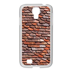 Roof Tiles On A Country House Samsung Galaxy S4 I9500/ I9505 Case (white) by Jojostore