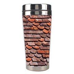 Roof Tiles On A Country House Stainless Steel Travel Tumblers by Jojostore