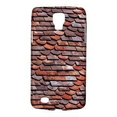 Roof Tiles On A Country House Samsung Galaxy S4 Active (i9295) Hardshell Case by Jojostore
