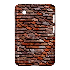 Roof Tiles On A Country House Samsung Galaxy Tab 2 (7 ) P3100 Hardshell Case  by Jojostore