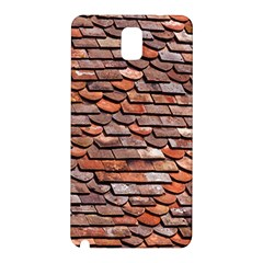 Roof Tiles On A Country House Samsung Galaxy Note 3 N9005 Hardshell Back Case by Jojostore