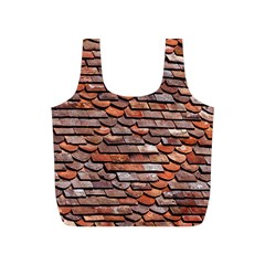 Roof Tiles On A Country House Full Print Recycle Bag (s) by Jojostore