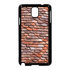 Roof Tiles On A Country House Samsung Galaxy Note 3 Neo Hardshell Case (black) by Jojostore