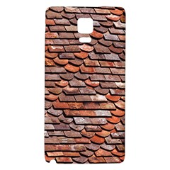 Roof Tiles On A Country House Samsung Note 4 Hardshell Back Case by Jojostore