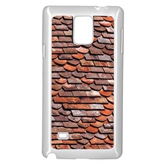 Roof Tiles On A Country House Samsung Galaxy Note 4 Case (white) by Jojostore