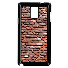 Roof Tiles On A Country House Samsung Galaxy Note 4 Case (black) by Jojostore