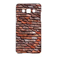 Roof Tiles On A Country House Samsung Galaxy A5 Hardshell Case  by Jojostore