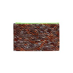 Roof Tiles On A Country House Cosmetic Bag (xs) by Jojostore