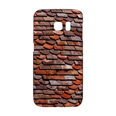 Roof Tiles On A Country House Samsung Galaxy S6 Edge Hardshell Case by Jojostore
